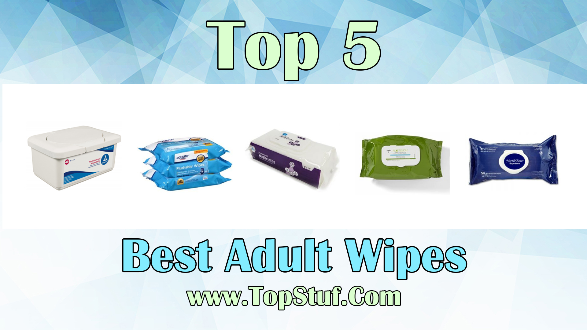 Adult Wipes