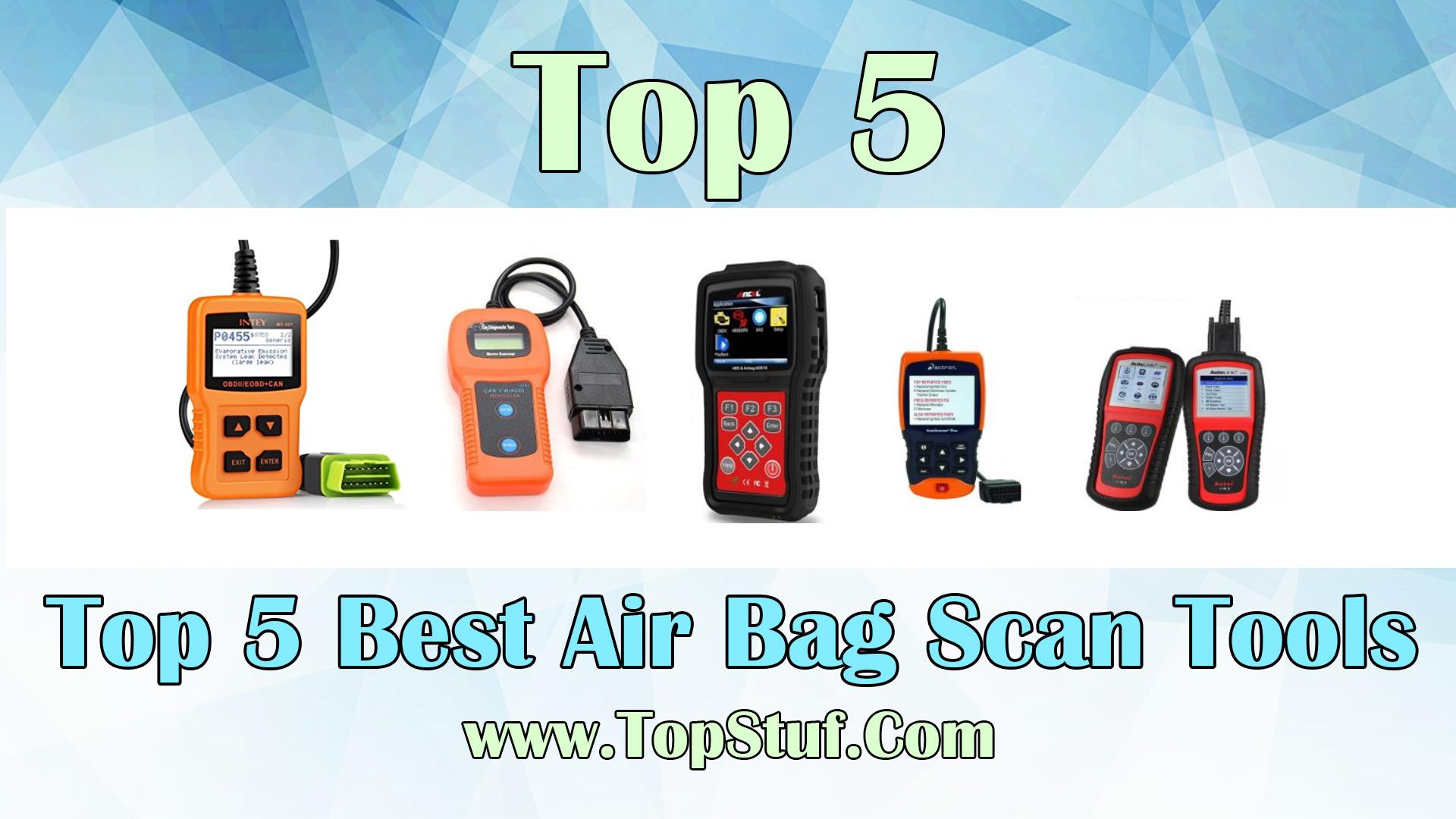 Air Bag Scan Tools