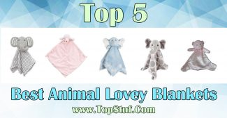 Animal Lovey Blankets