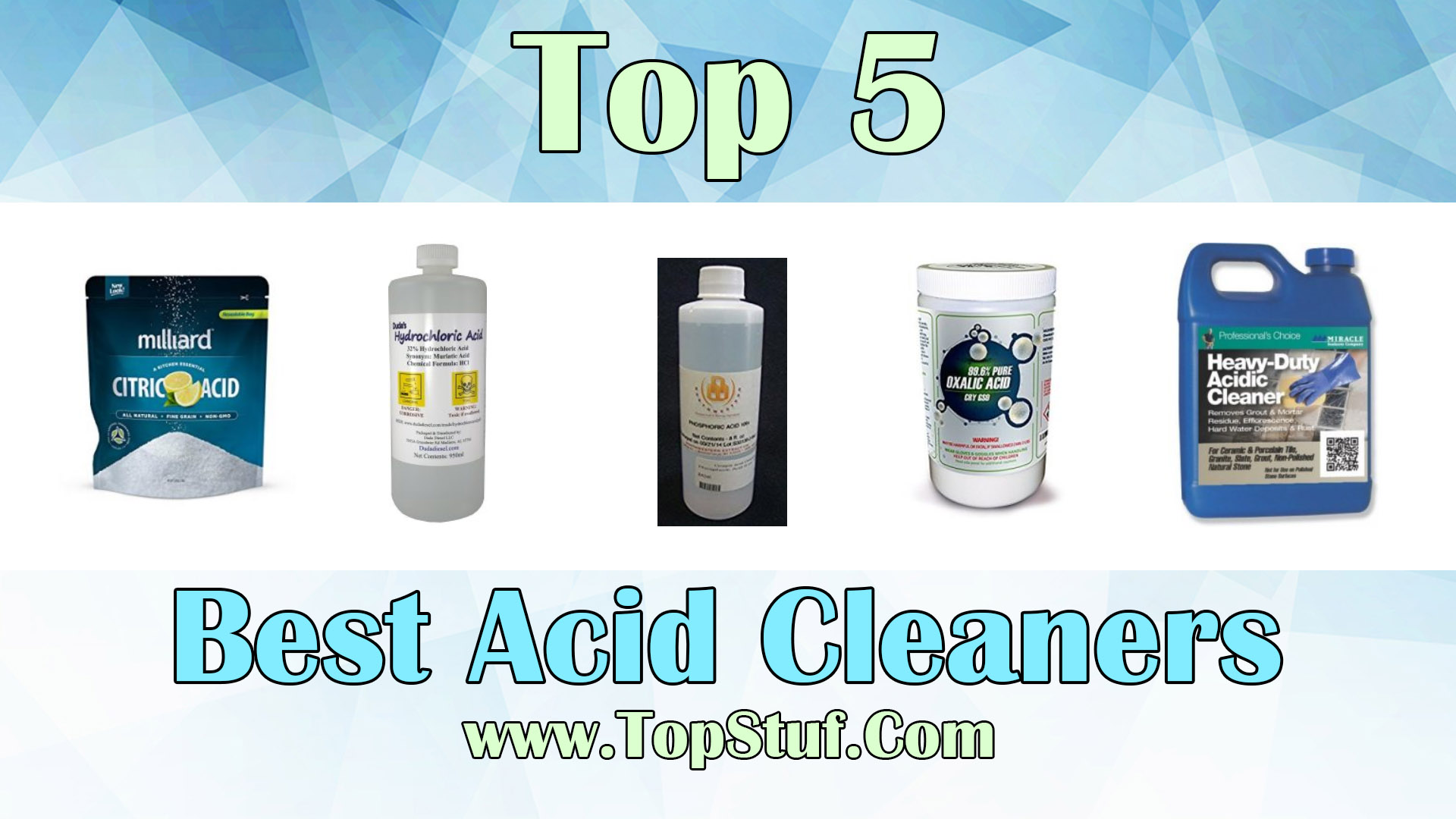 Best Acid Cleaners