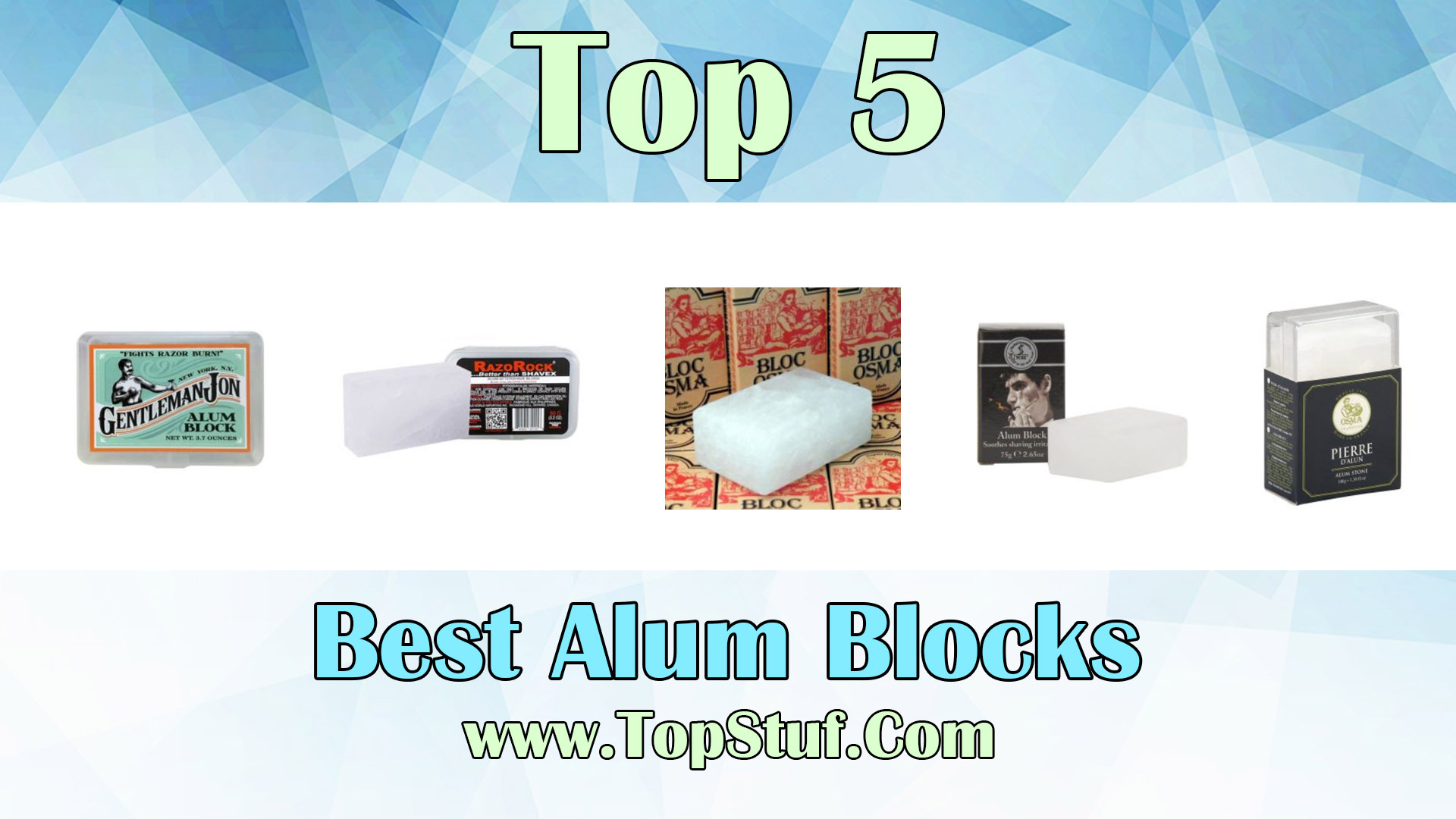 Best Alum Blocks
