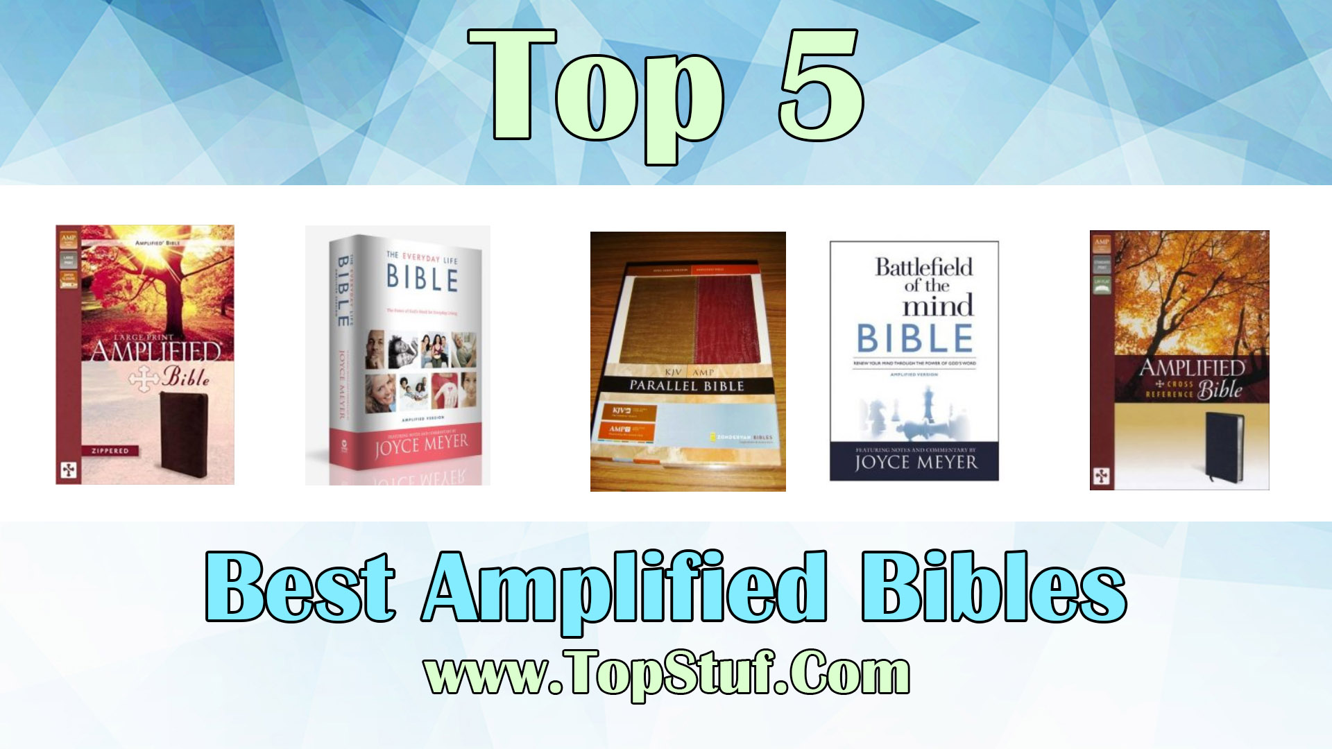 Best Amplified Bibles