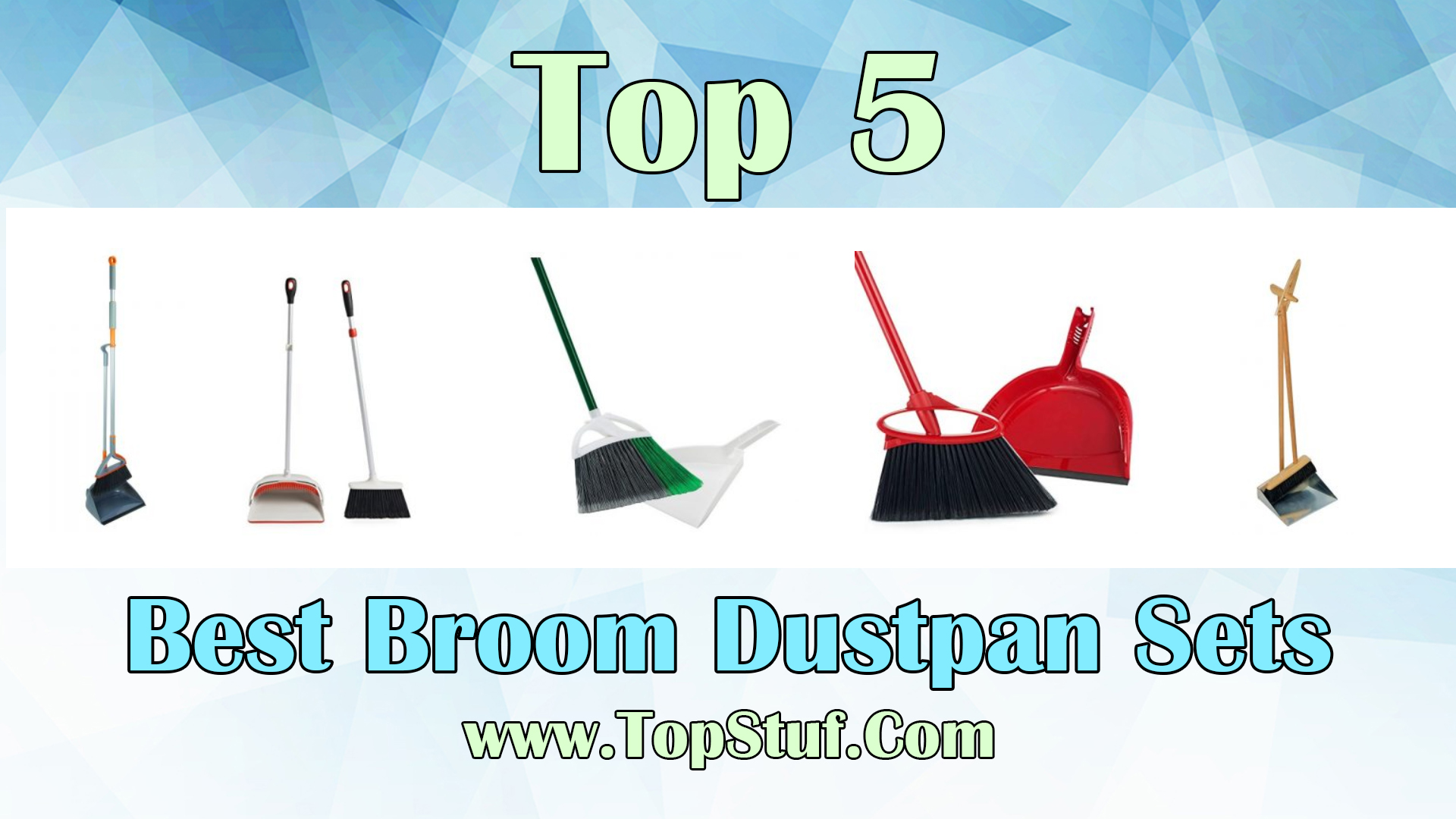 Best Broom Dustpan Sets