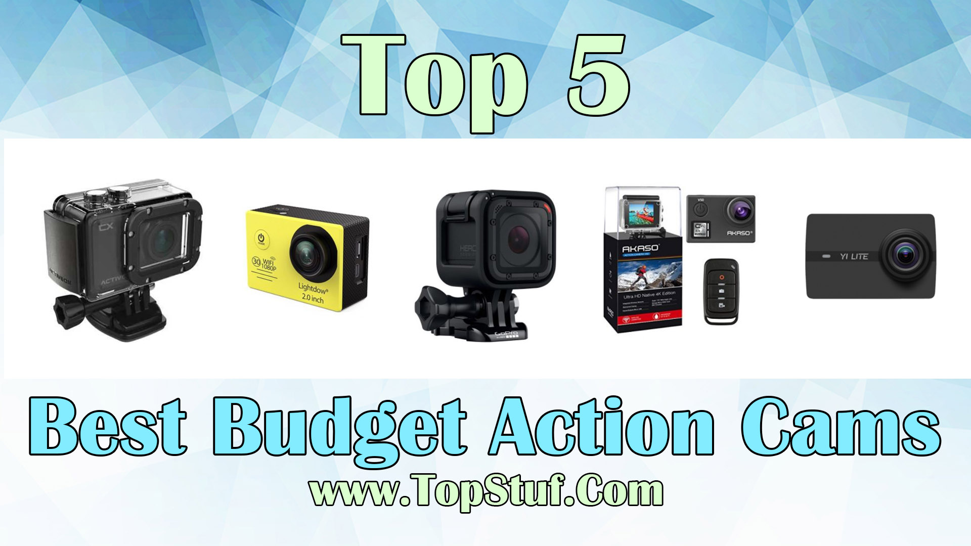 Best Budget Action Cams