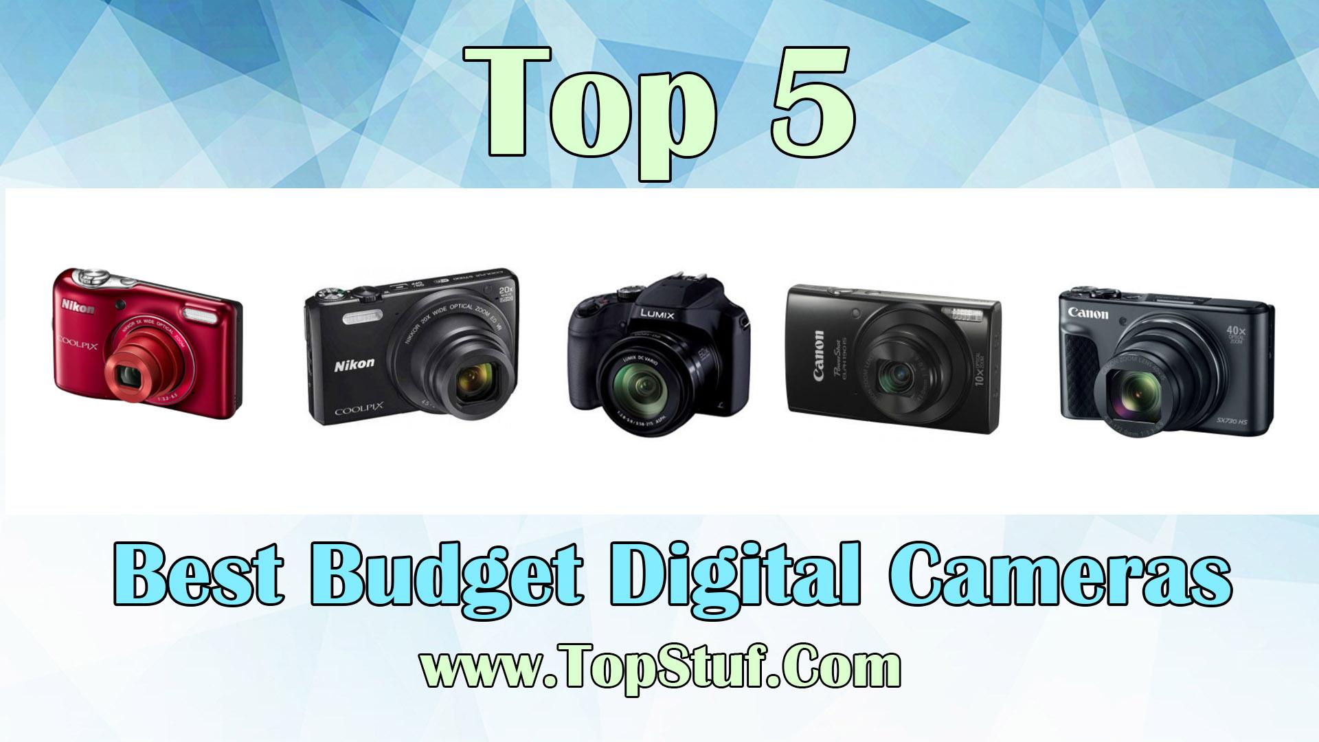 Budget Digital Cameras