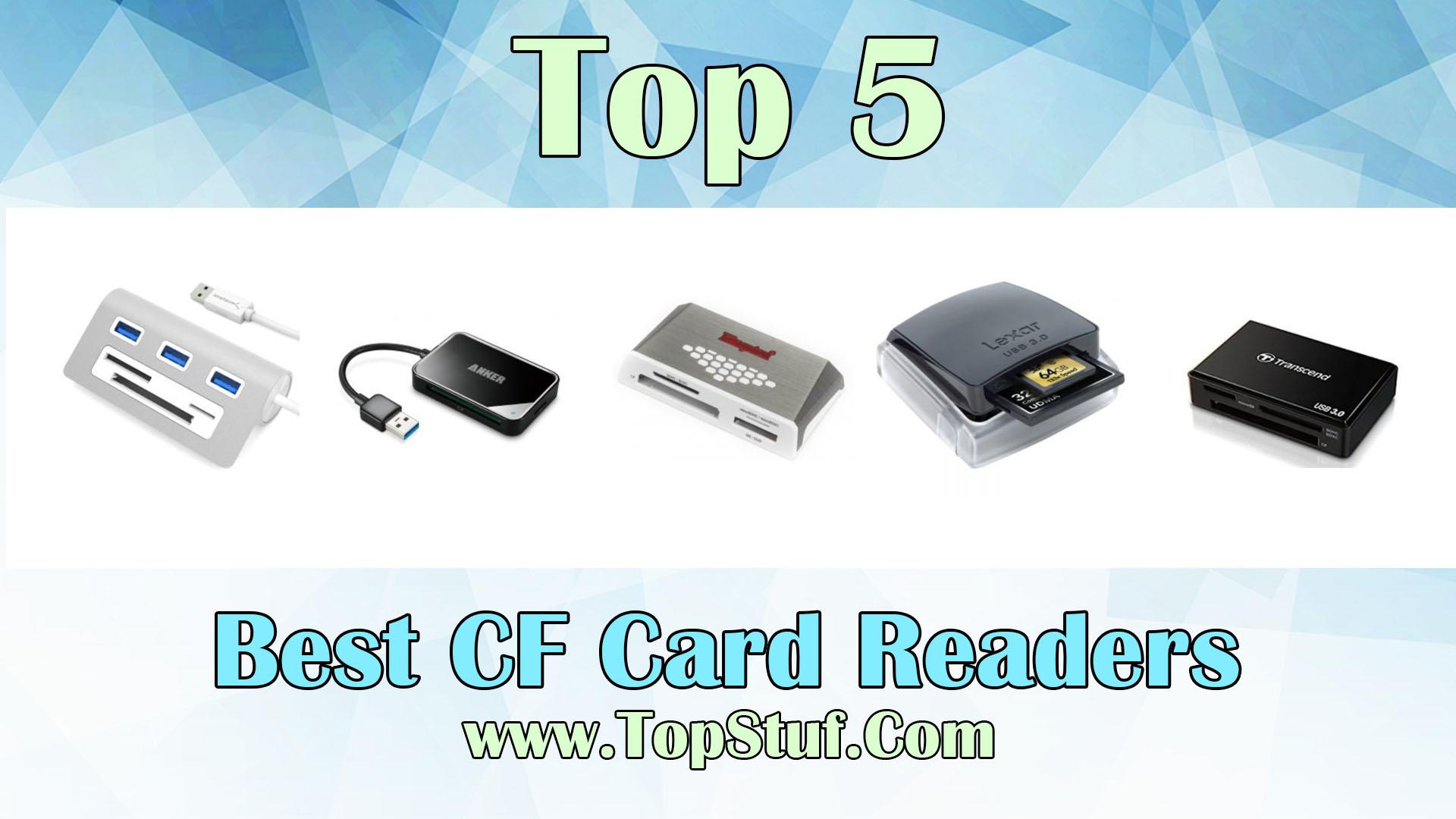 Best CF Card Readers