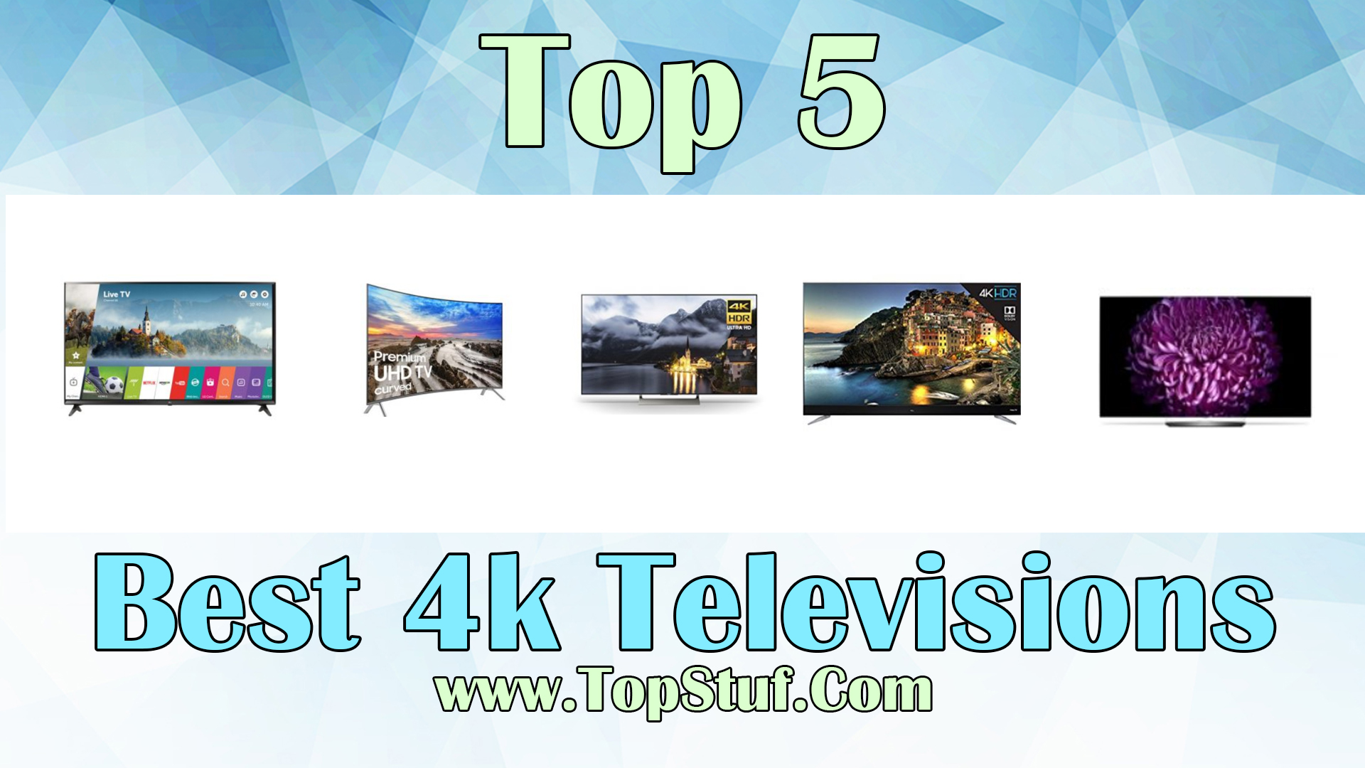 Best 4k Televisions