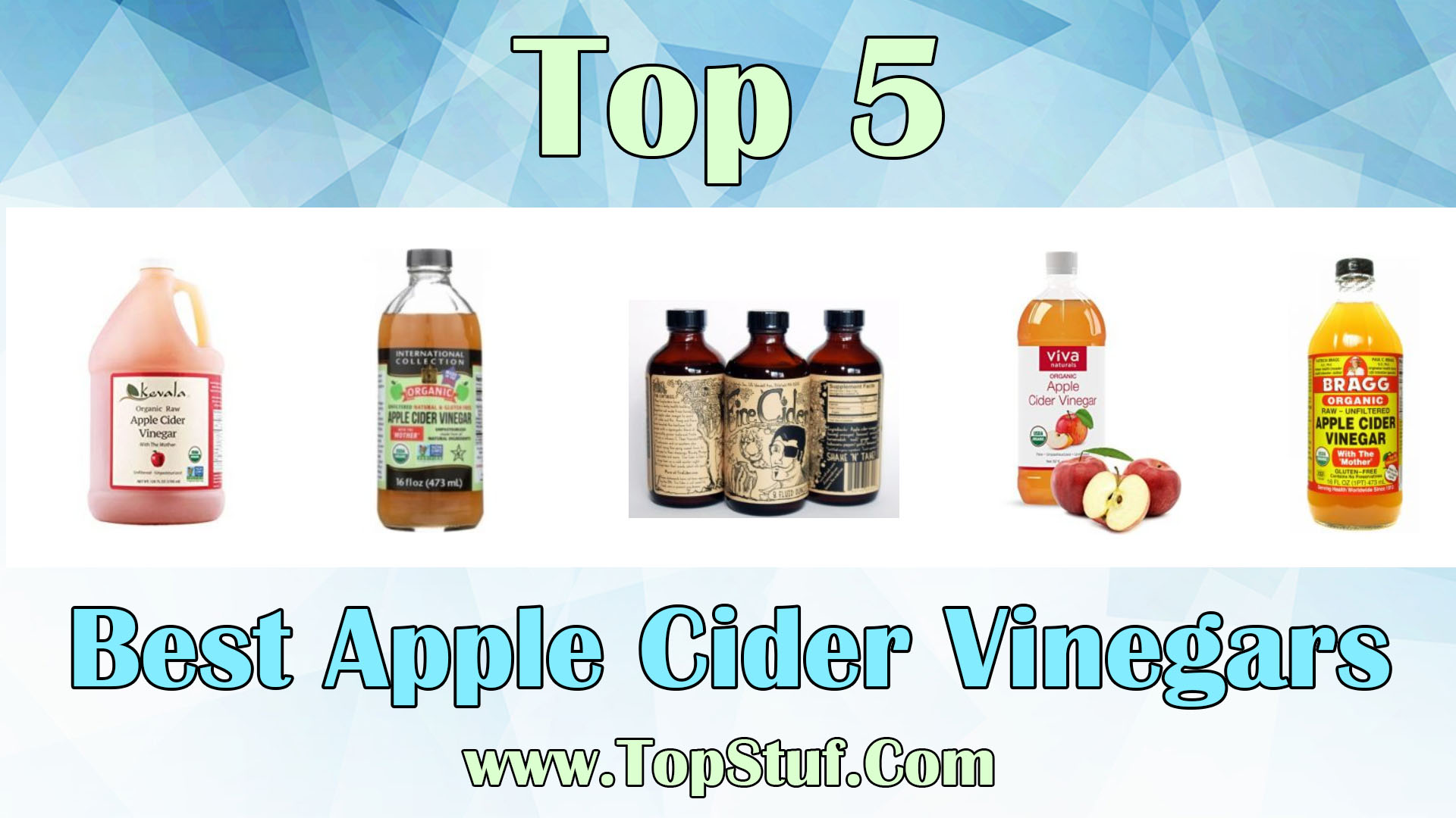 Best Apple Cider Vinegars