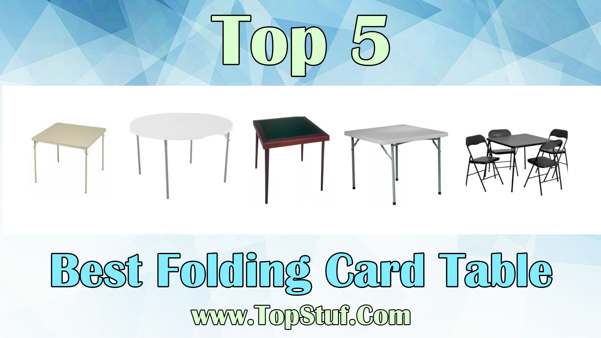 Best Folding Card Table