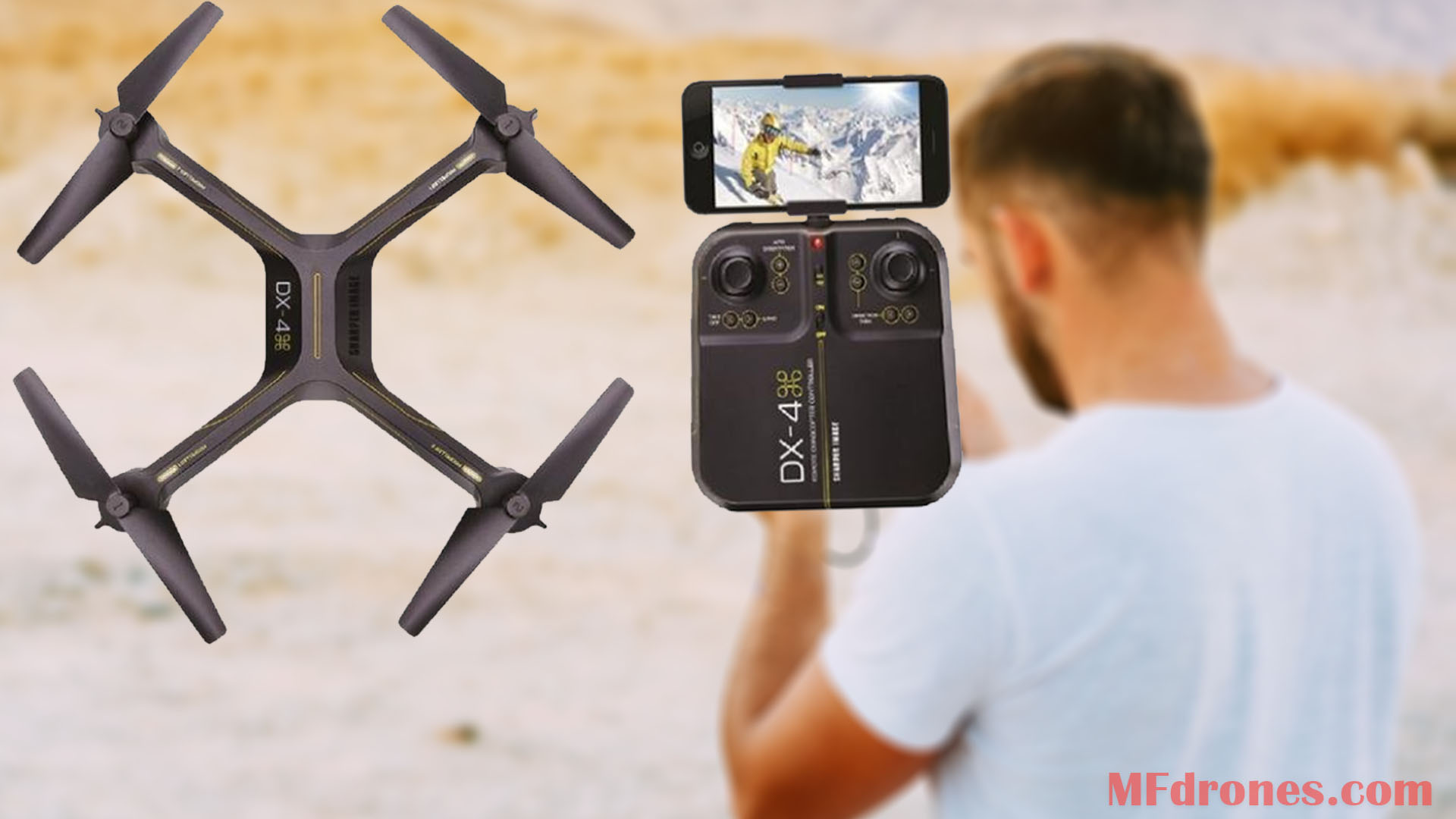 Sharper Image Drone Review
