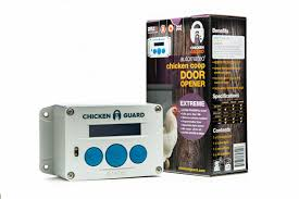 ChickenGuard 'Extreme' Automatic Chicken Coop Pop Door Opener Lifts Up To 8 lbs