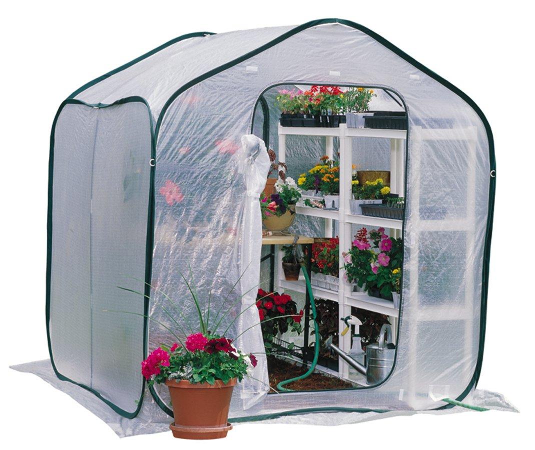 Flower House FHSP300CL SpringHouse Greenhouse