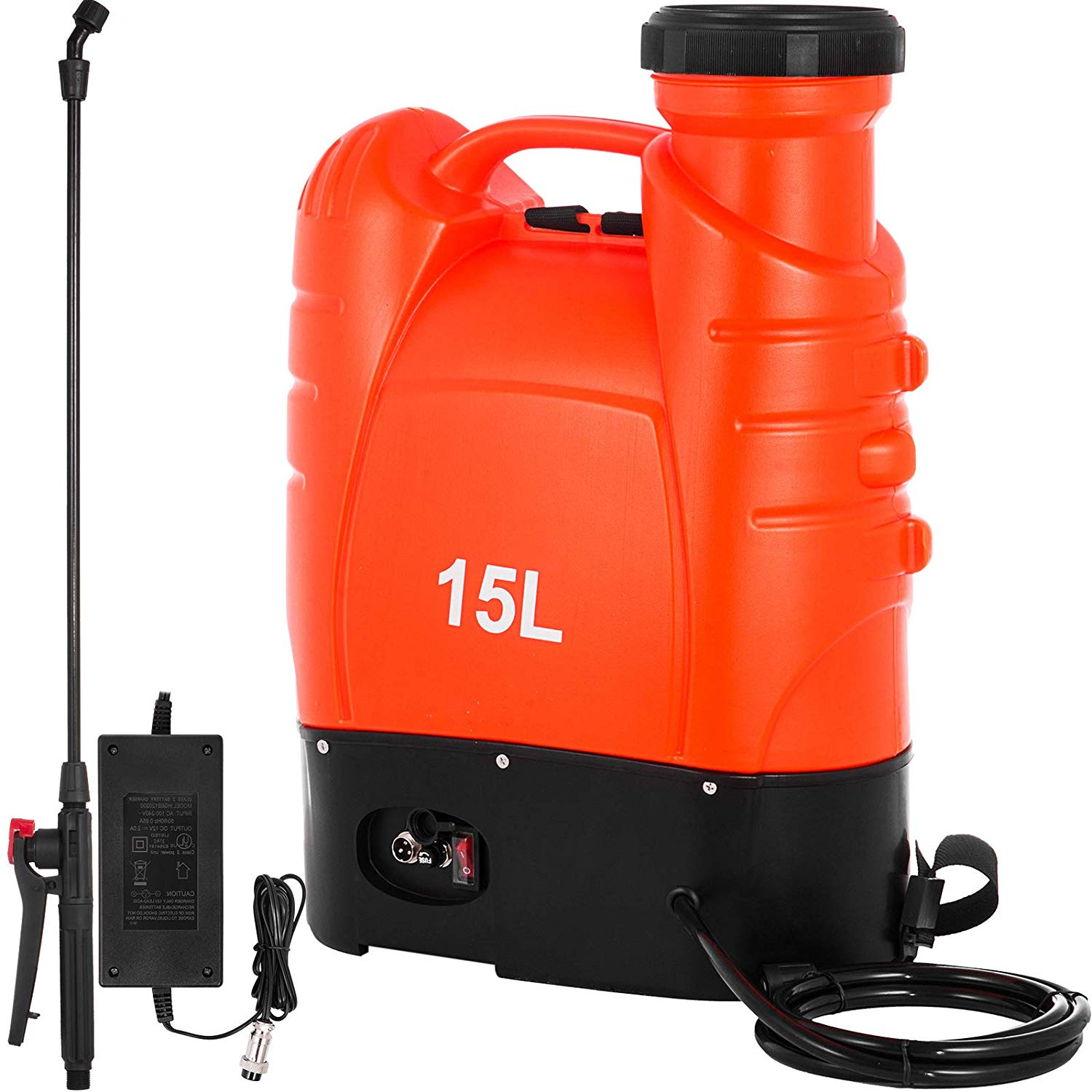 Happybuy Battery Powered Backpack Sprayer 4 Gallon