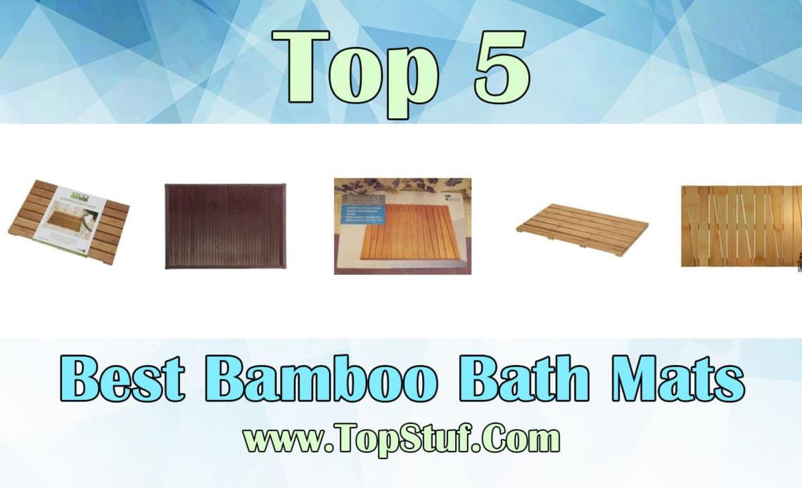 Bamboo Bath Mats
