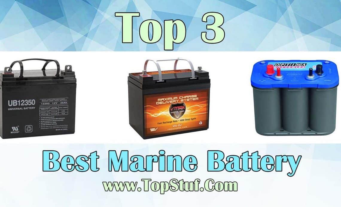 Best Marine Battery 2020