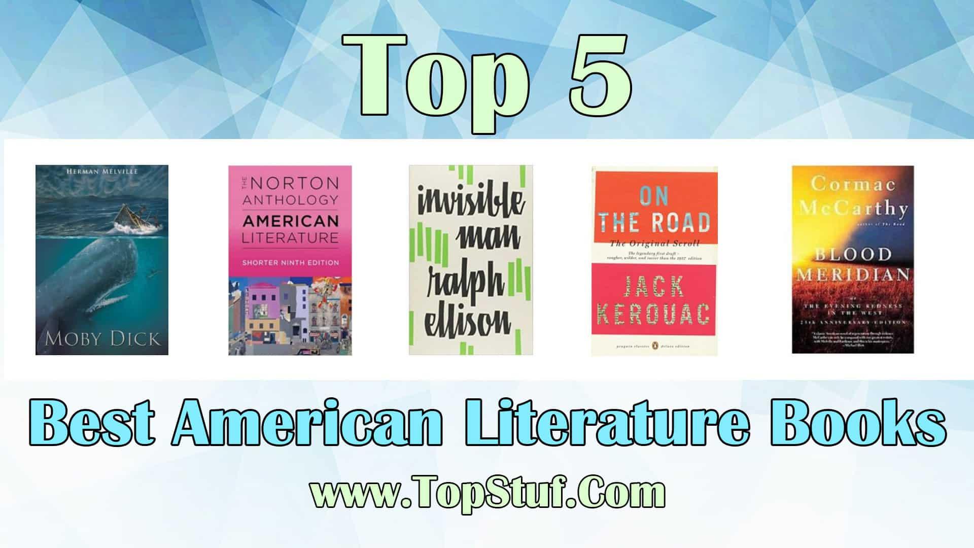 Top 5 Best American Literature Books