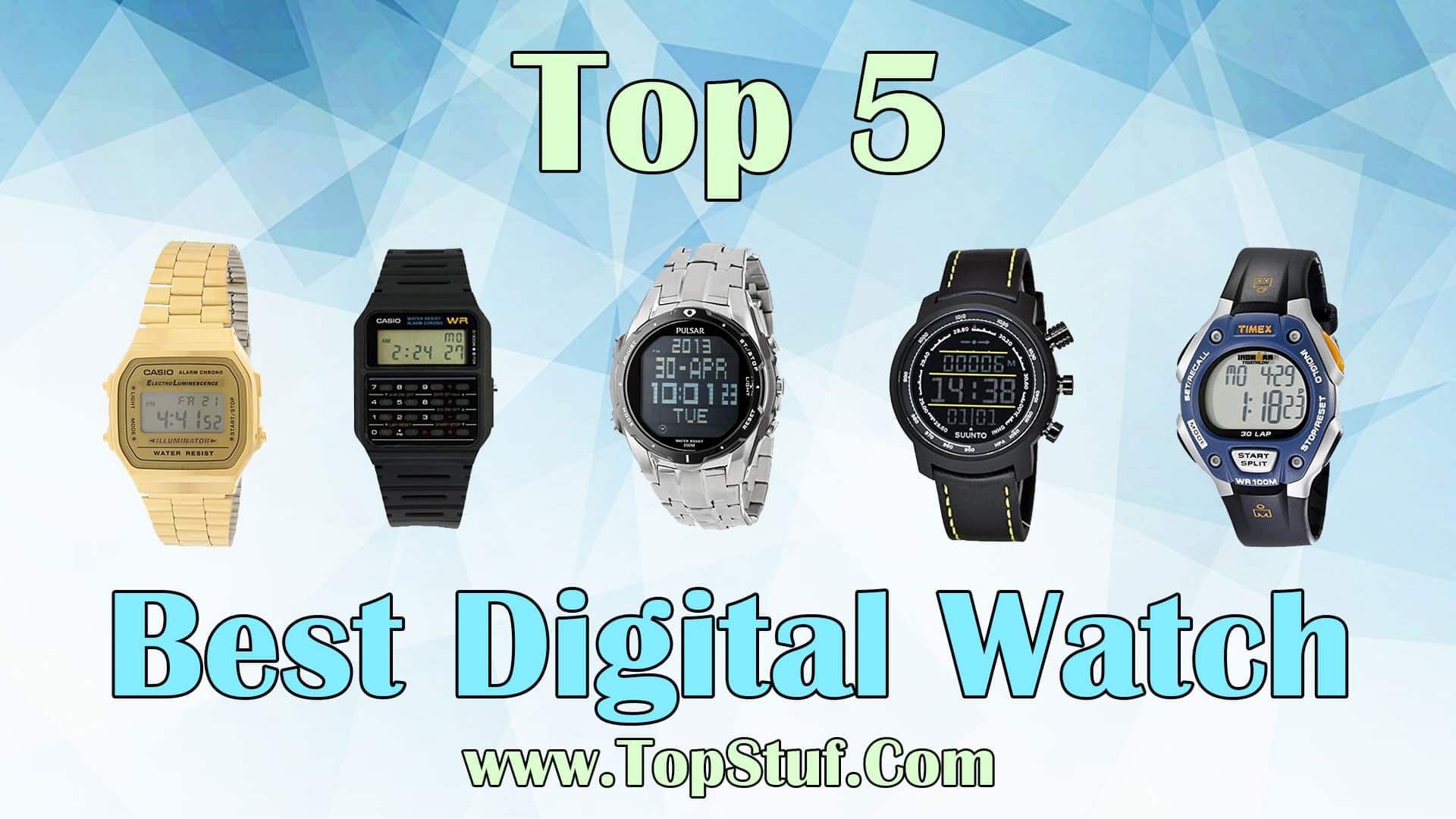 Top 5 Best Digital Watch
