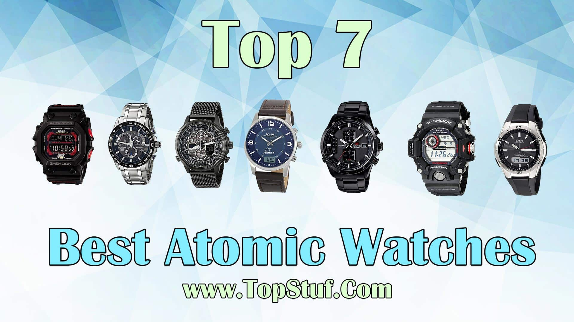 Top 7 Atomic Watches