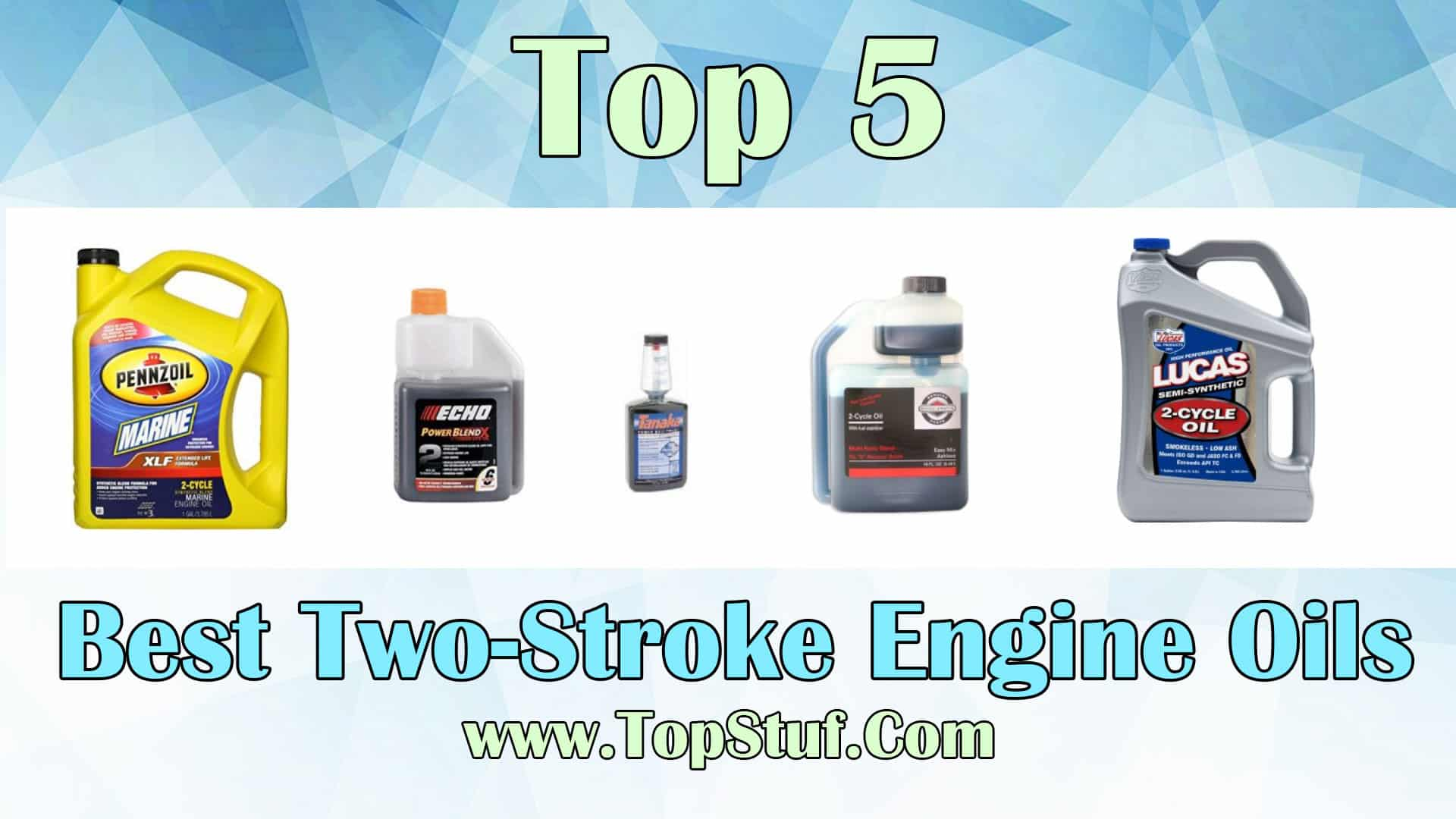Two-Stroke Engine Oils